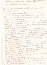 Fac-símile da carta da comunidade xavante de Marãiwatsédé